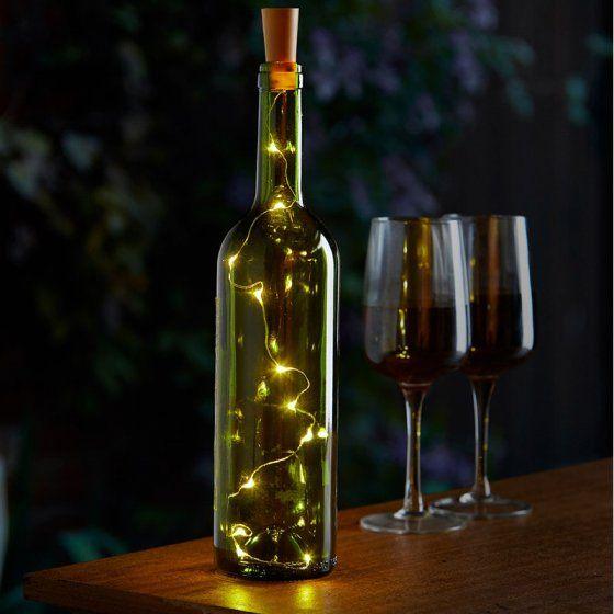 Smart Garden Bottle it! - 12 LED light string bottle lights