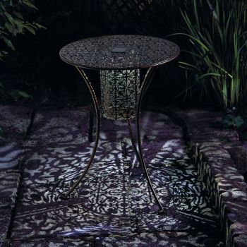 Smart Solar Illumina Solar Magical Lit Table