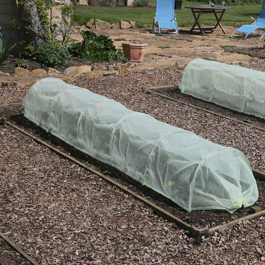 Haxnicks Easy Micromesh Tunnel - Garden Cloche 3m x 45cm x 30cm