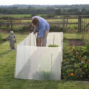 Haxnicks Two Micromesh Pest & Wind Barrier 4m x 70cm