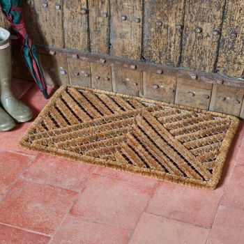 Smart Garden Muck Off! Brush Door Mat