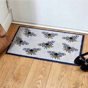 Smart Garden Busy Bee Ritzy Rug Indoor Door Mat