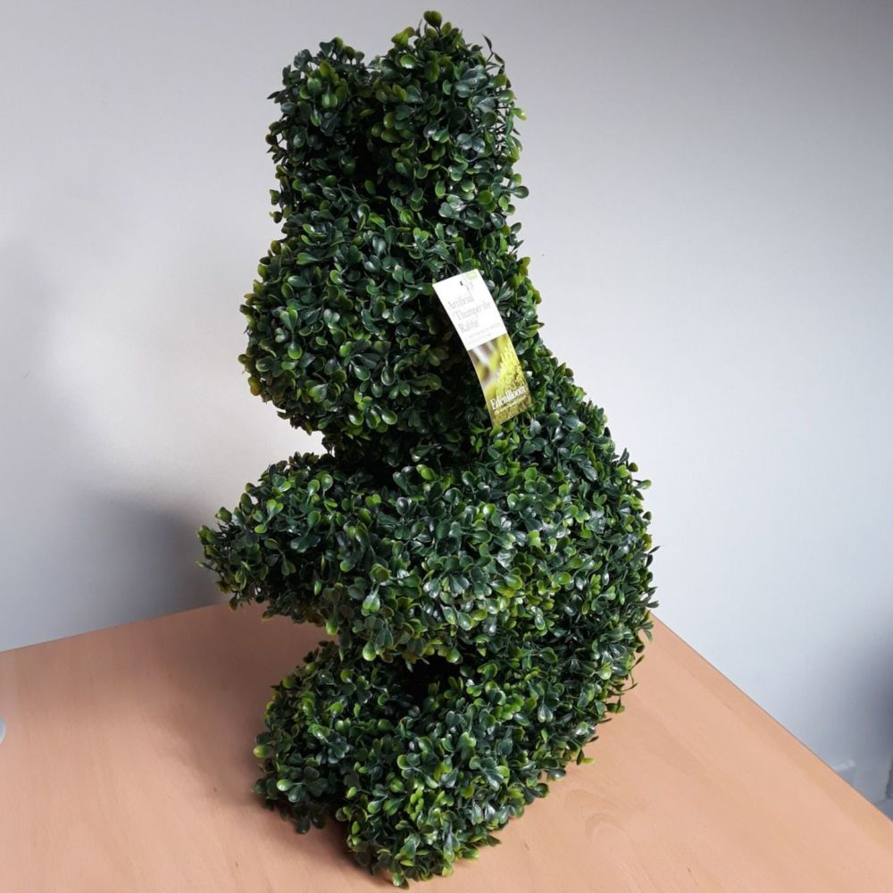 Gardman Topiary Thumper the Rabbit Boxus Leaf Effect Ornament 48cm high