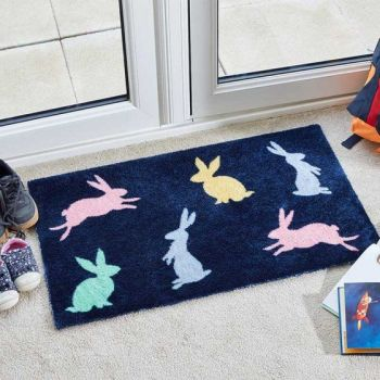 Smart Garden Bright Bunnies Ritzy Rug Indoor Door Mat