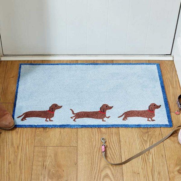Smart Garden Sausage Stroll Dog Ritzy Rug Indoor Door Mat