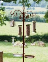 ChapelWood Complete Wild Bird Dining Station - Antique Bronze 2.04m High
