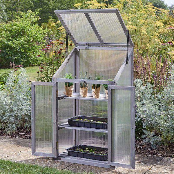 Smart Garden Timber GroZone Growhouse Grey