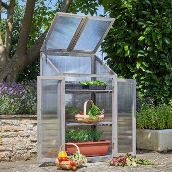 Smart Garden Timber GroZone Max  Growhouse - Grey