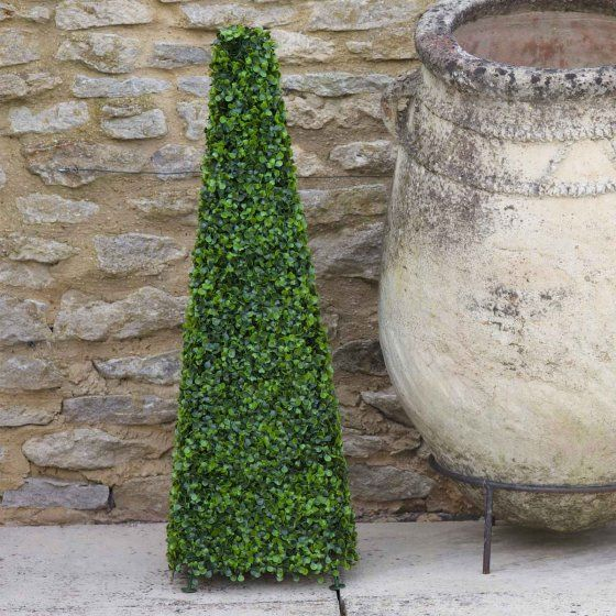 2 x Smart Garden Topiary Obelisk Boxwood Effect 60cm