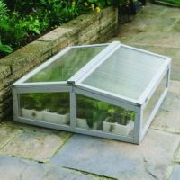 Gardman Wooden Cold Frame Dove Grey