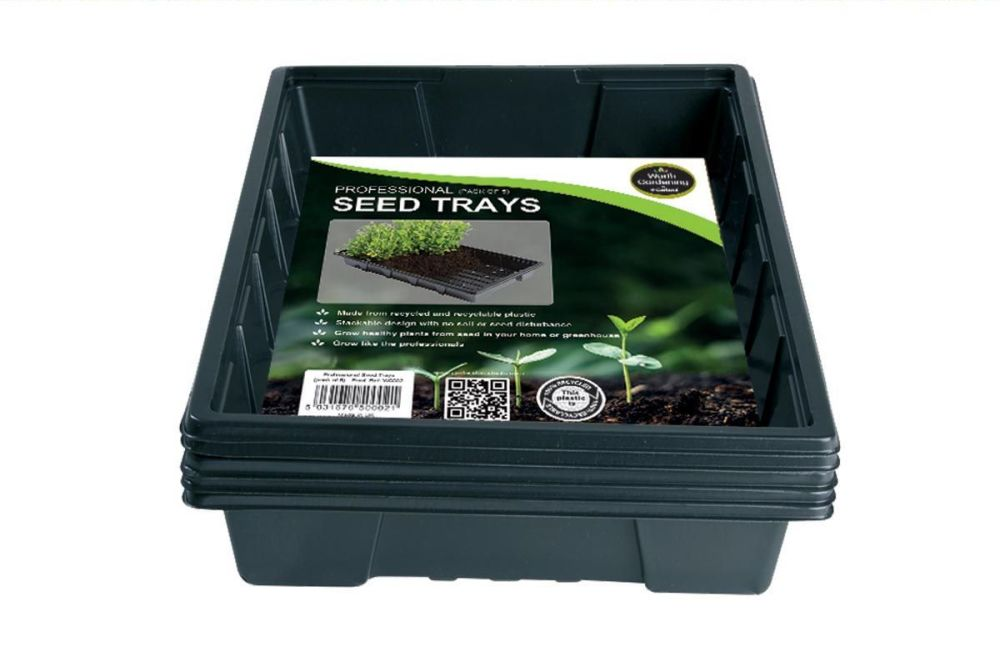 Garland Professional Standard Seed Trays  - pack of 5, W0002