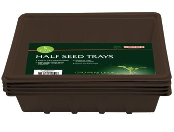 Bosmere Half-Size Seed Trays - set of 10 N251