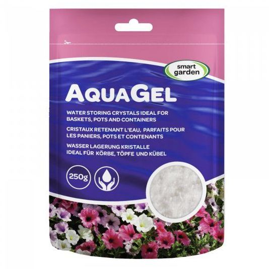 Smart Garden AquaGel Water Retaining Gel Crystals 250g