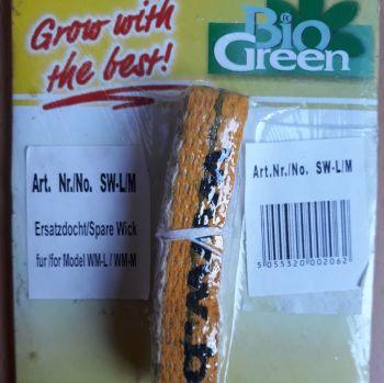 2 x Bio Green Replacement Wicks Mini Paraffin Greenhouse Heater