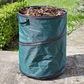 Smart Garden SpringBin Large Size Pop Up Garden Waste Tidy Bin - 100L