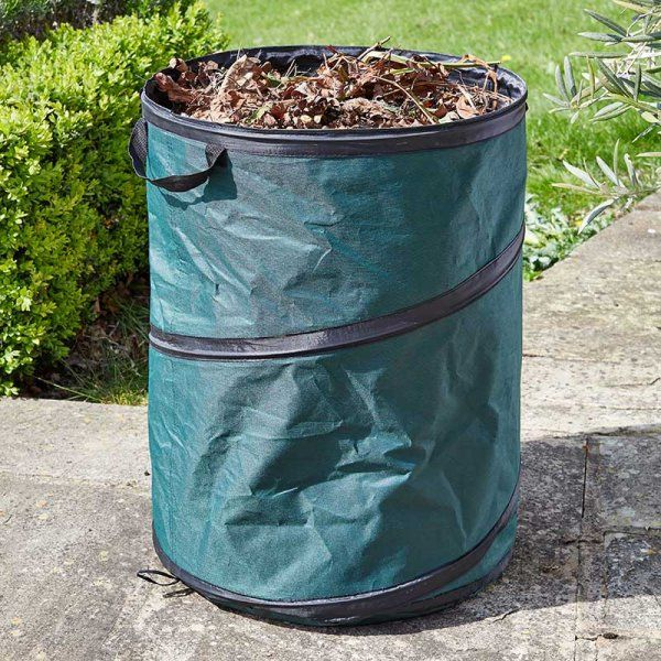 Smart Garden SpringBin Large Size Pop Up Garden Waste Tidy Bin - 100L