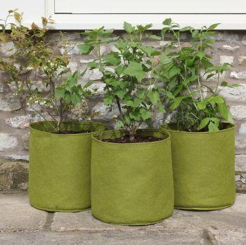 Haxnicks Vigoroot Pots 20 Litre Planter Tubs - 3 pack