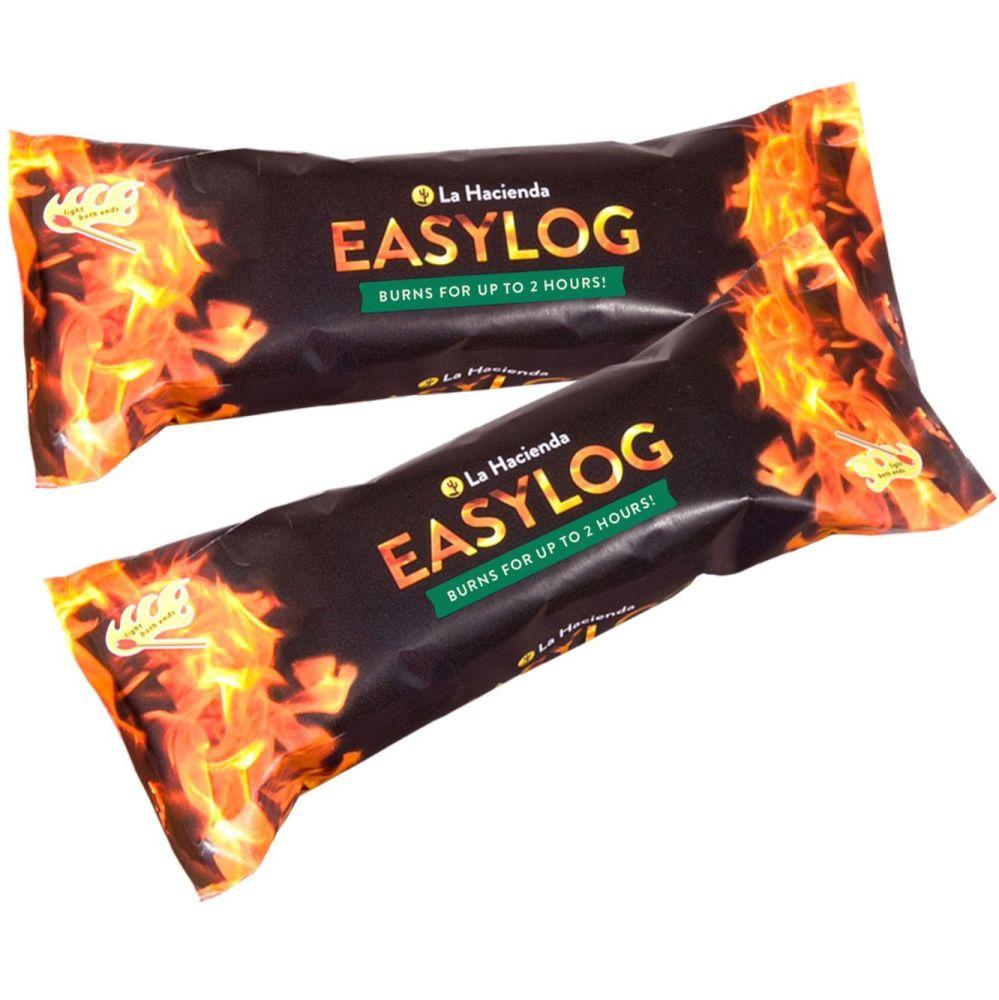 La Hacienda Easylogs sawdust chimenea fuel - pack of 4