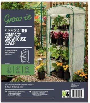 Gardman Fleece Cover for a Compact 4 Tier Growhouse 08703