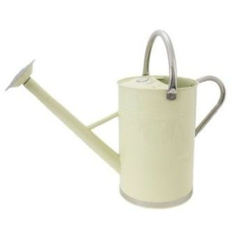 Kent & Stowe Cream Metal Watering Can 9L / 2 Gallons 34899