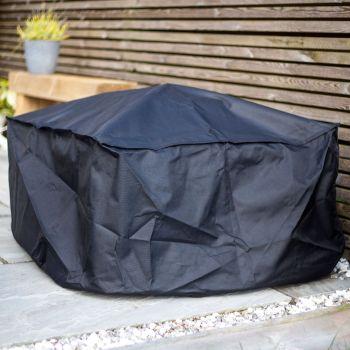 La Hacienda Premium Square Firepit Cover 60cm x 80cm dia 60577
