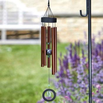 Smart Garden Copper Jade Windchime - Tuned Wind Chime 76cm high