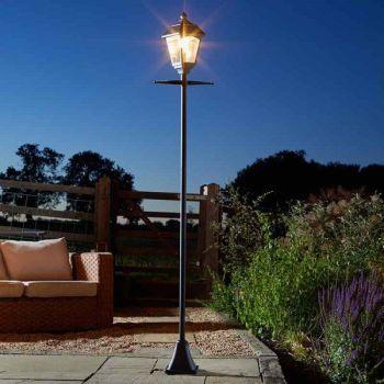 Smart Solar Victoriana Lamp Post Garden Light 365 Solar 200 Lumens 2m