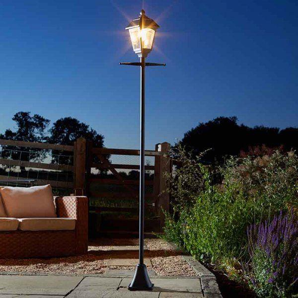 Smart Solar Victoriana Lamp Post Light - 365 Solar