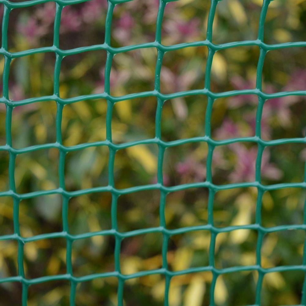 Tildenet Plastic Garden Mesh - 19mm Mesh Green 6m x 1m Roll 50080