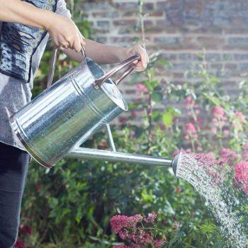 Smart Garden Watering Can 9L / 2 Gallons  - Galvanised Steel