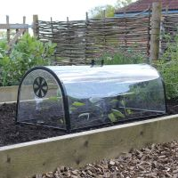 Haxnicks Quality Kitchen Garden Cloche Plant Grow Tunnel