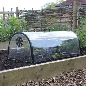 Haxnicks Quality Kitchen Garden Cloche Plant Grow Tunnel