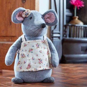 Smart Garden Mrs Mouse Doorstop Door Stop