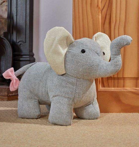 Smart Garden Jumbo Elephant Doorstop Door Stop