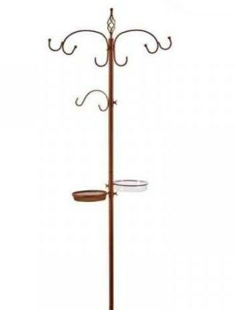 ChapelWood Original Wild Bird Dining Station Stand - Bronze Effect 2.04m 7518003