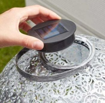 Round Replacement Solar Light Box - for Smart Solar Lanterns