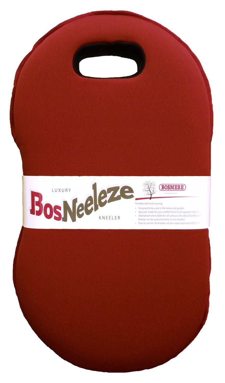 Bosmere BosNeeleze Luxury Garden Kneeler Pad - Burgundy Red T108