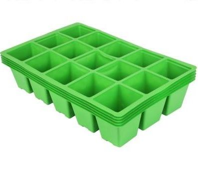 Gardman Standard Seed Tray Inserts 15 Cell - set of 10