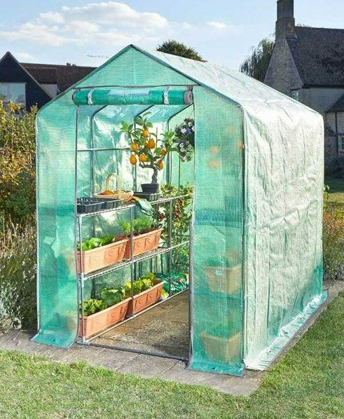 Smart Garden Walk-In GroZone Max Greenhouse