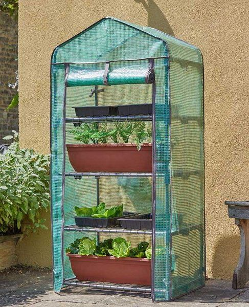 Smart Garden Classic 4 Tier GroZone Reinforced Growhouse