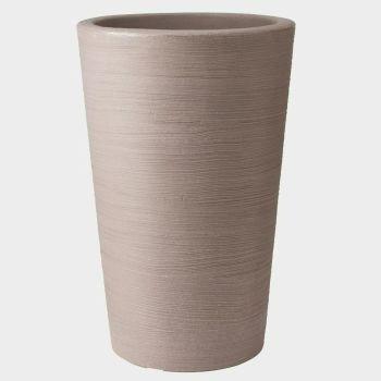Stewart Varese Medium Decorative Plastic Planter - Dark Brown 55.5cm High