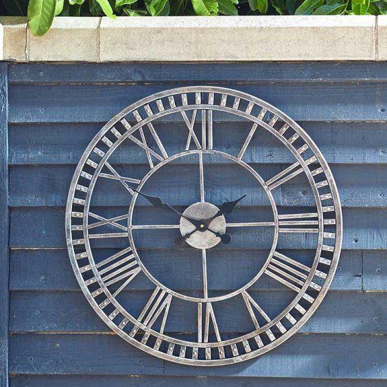 Smart Garden Buxton Garden Wall Clock & Thermometer 12''