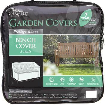 Tom Chambers 3 Seat Seater Garden Bench Cover - Prestige Range Green CP225
