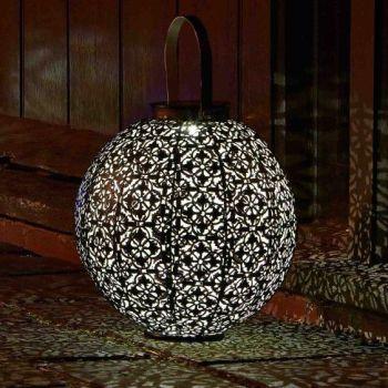 Smart Solar Damasque Solar Lantern Garden Patio Light