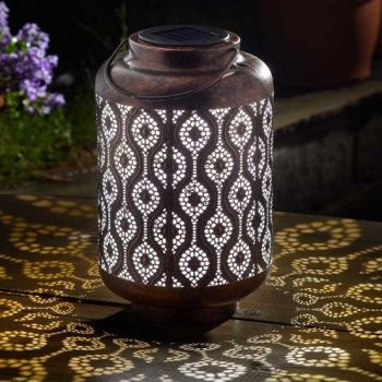 Smart Solar Adana Lantern Garden Patio Light 1080039