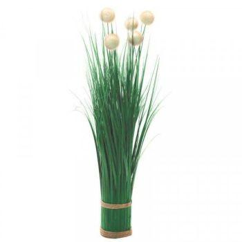 Smart Garden Pom-Pom Grass Faux Bouquet -  70cm