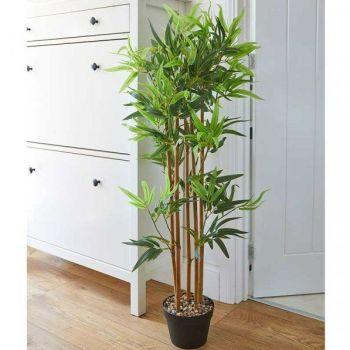 Smart Garden Bamboo Faux Artificial Houseplant - 120cm