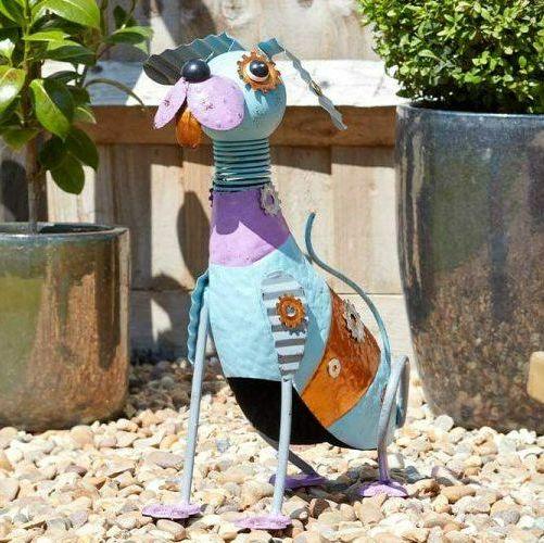 Smart Garden Funky Pooch Dog Garden Animal Ornament