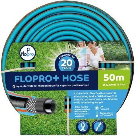 Gardman FloPro 50m Garden Hose Pipe - kink resistant