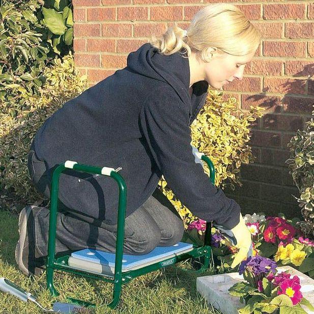 Draper Metal Folding Garden Kneeler Seat 64970